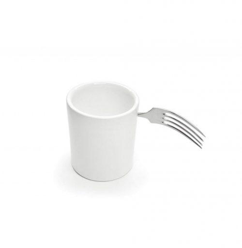 a tazz scafuro tazzina da caffe con posata argento