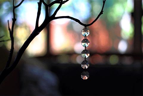 cristallo e legno