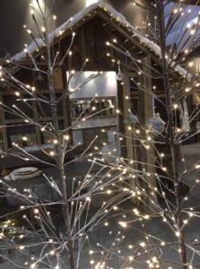 Albero di Natale - Pino stecco luminoso con leds