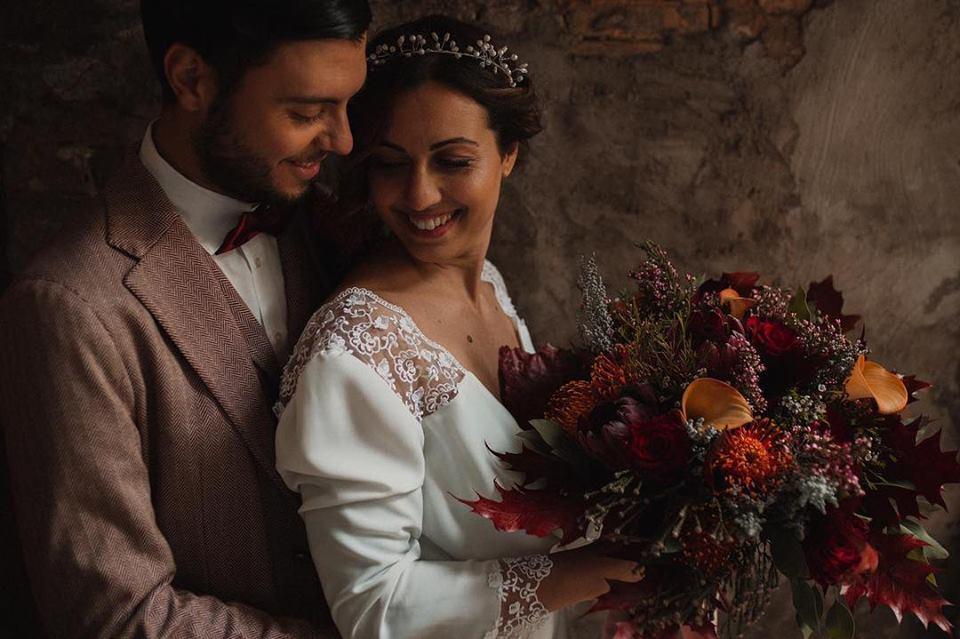 coppia matrimonio coroncina in argento per sposa fatto a mano