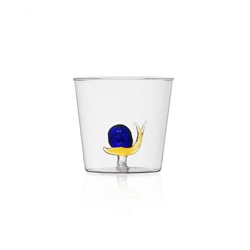 Bicchiere con lumaca Collezione Animal Farm Ichendorf Roma