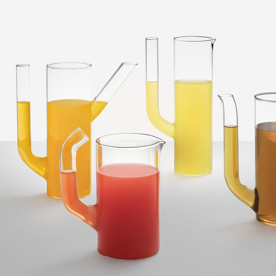 brocche Ichendorf Cactus vetro trasparente acqua e vino