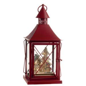 lanterna di Natale rossa