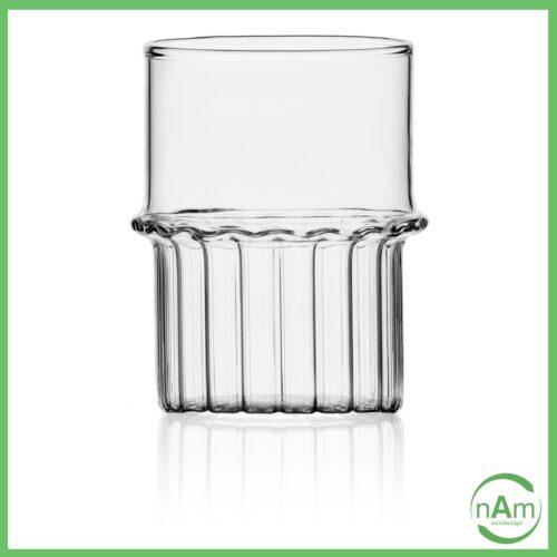 bicchiere vetro collezione TRANSIT Ichendorf Milano